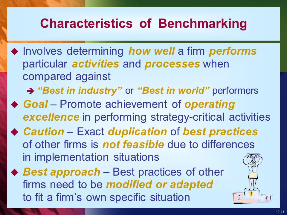 Characteristics of Benchmarking