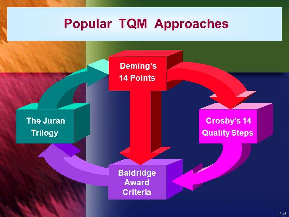 Popular TQM Approaches