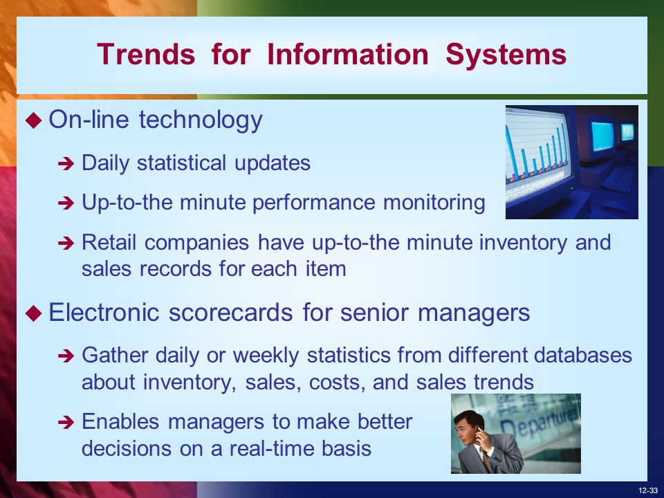 Trends for Information Systems
