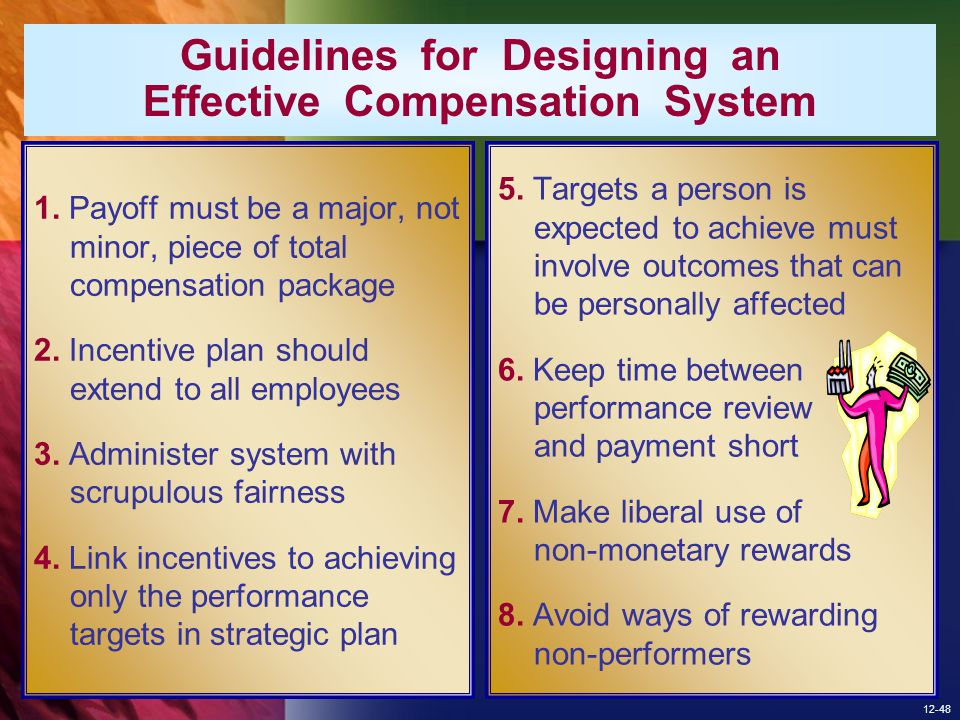 Guidelines for Designing an Effective Compensation System