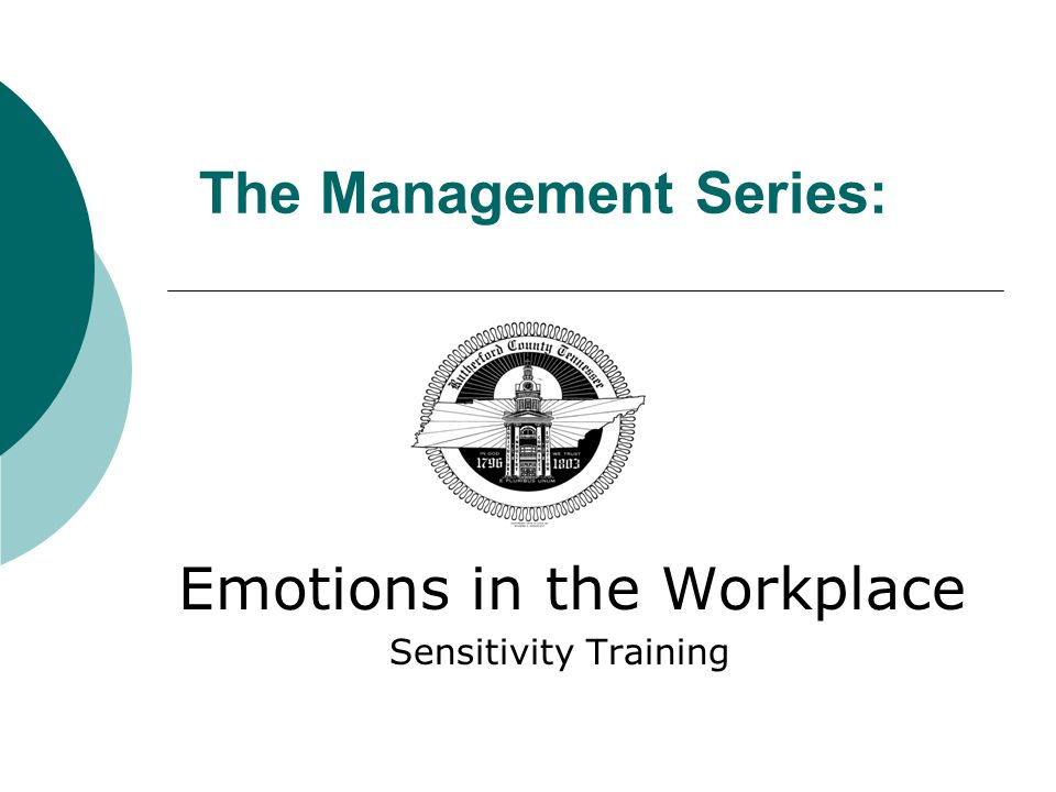 The Management Series: