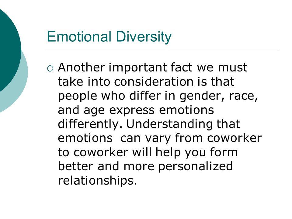 Emotional Diversity