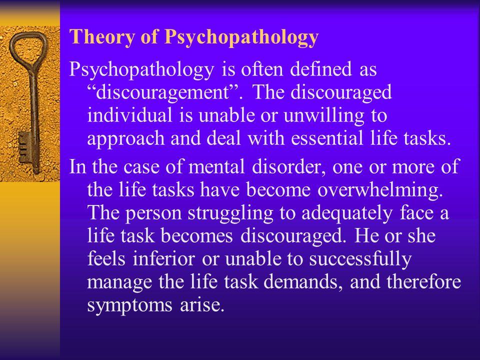 Theory of Psychopathology