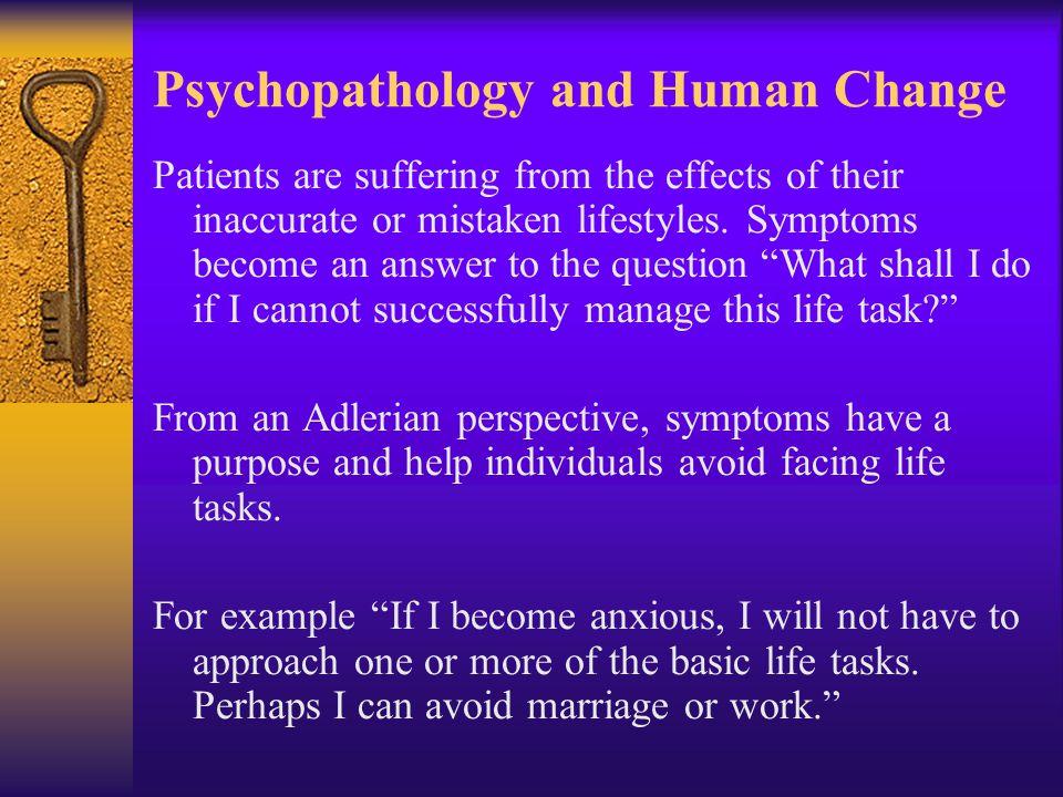 Psychopathology and Human Change