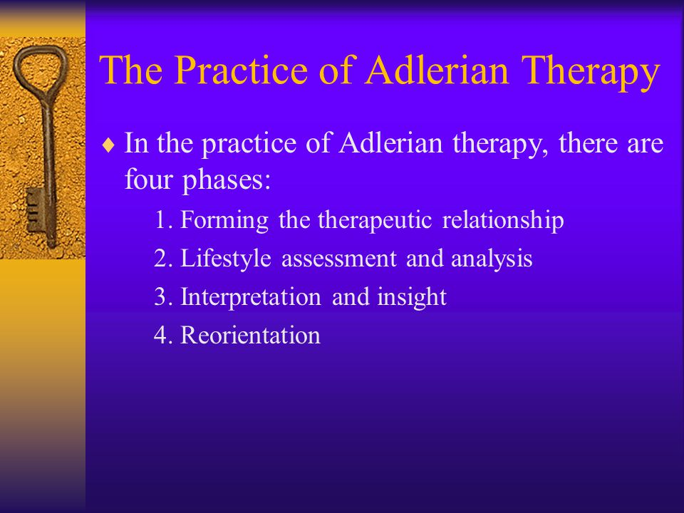 The Practice of Adlerian Therapy