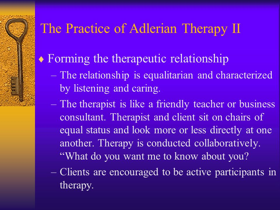 The Practice of Adlerian Therapy II