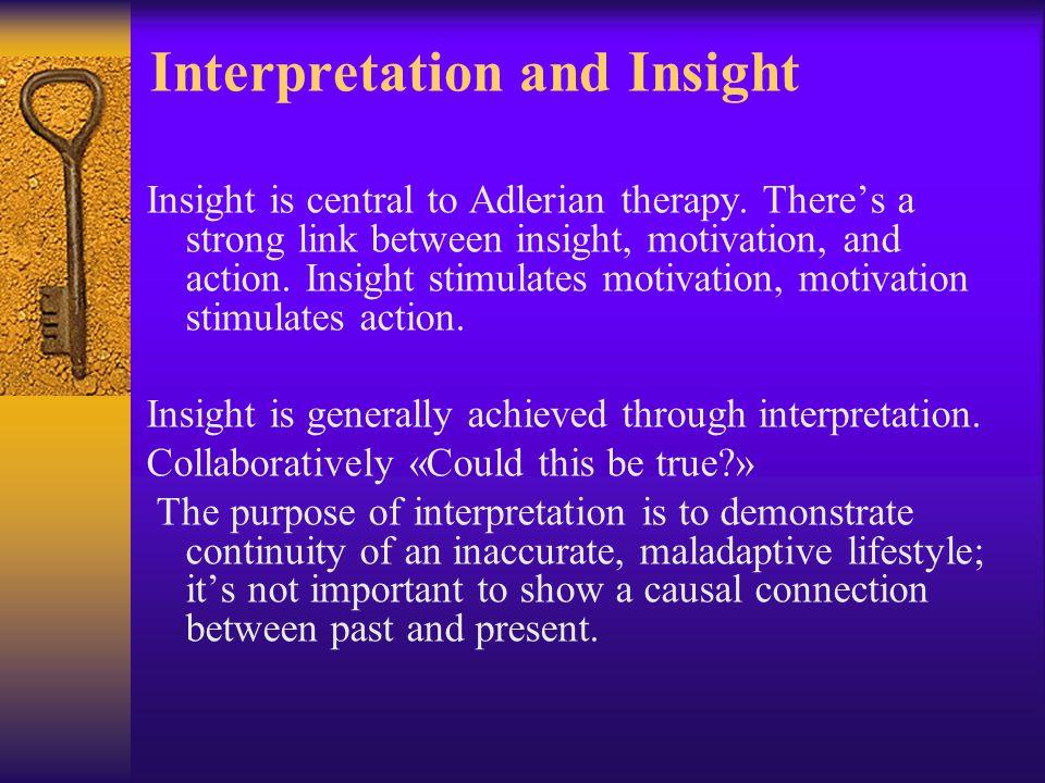 Interpretation and Insight