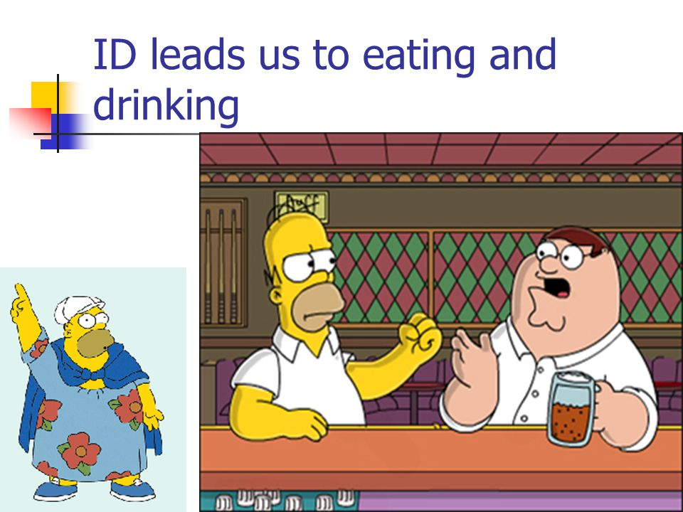 ID leads us to eating and drinking