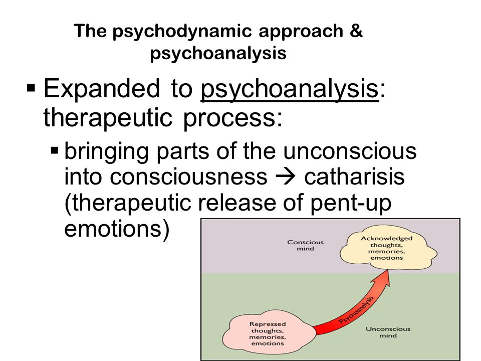 The psychodynamic approach & psychoanalysis