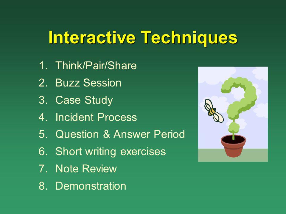 Interactive Techniques