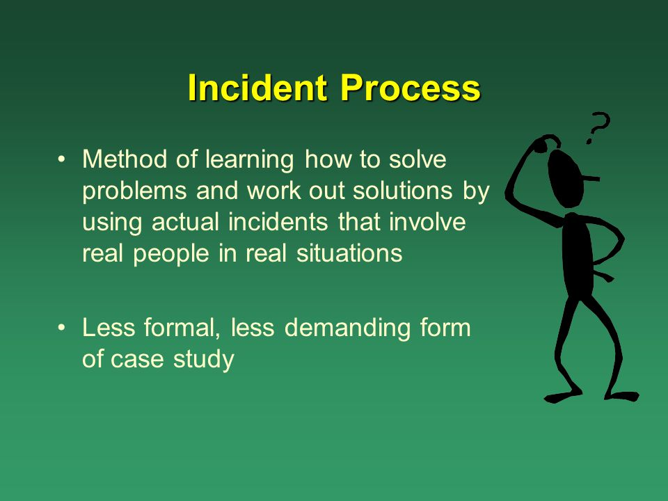 Incident Process