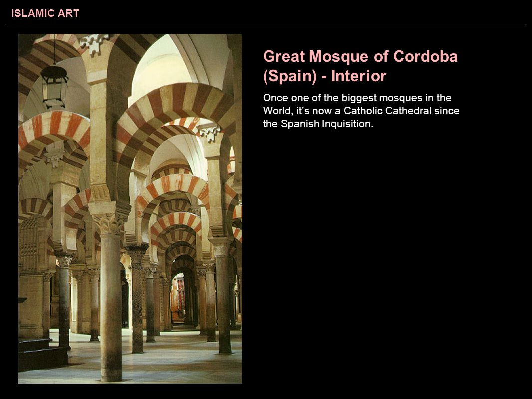 Great Mosque of Cordoba (Spain) - Interior