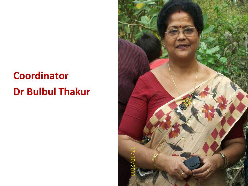Coordinator Dr Bulbul Thakur
