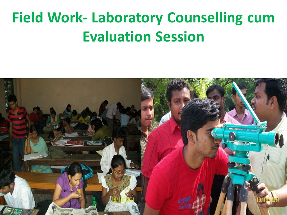 Field Work- Laboratory Counselling cum Evaluation Session