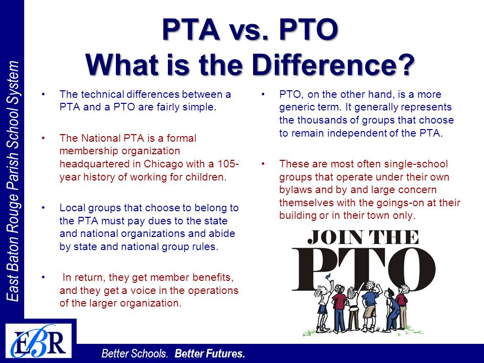 PTA vs. PTO What is the Difference