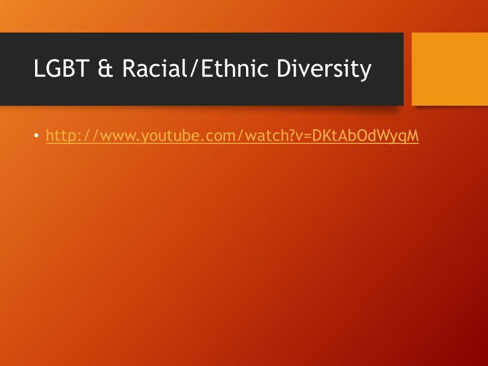 LGBT & Racial/Ethnic Diversity