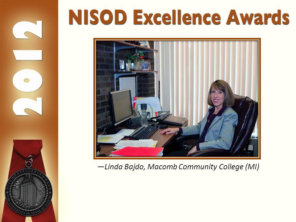 —Linda Bajdo, Macomb Community College (MI)