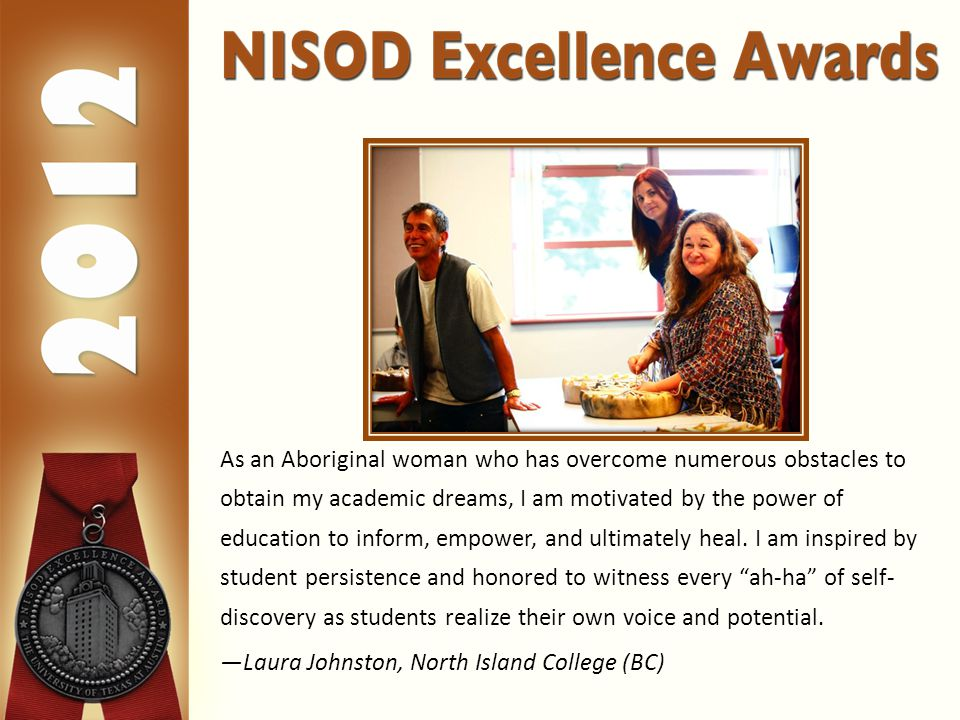 As an Aboriginal woman who has overcome numerous obstacles to obtain my academic dreams, I am motivated by the power of education to inform, empower, and ultimately heal.