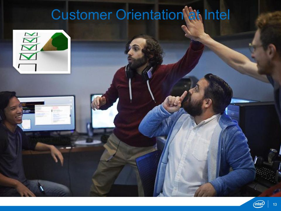 Customer Orientation at Intel