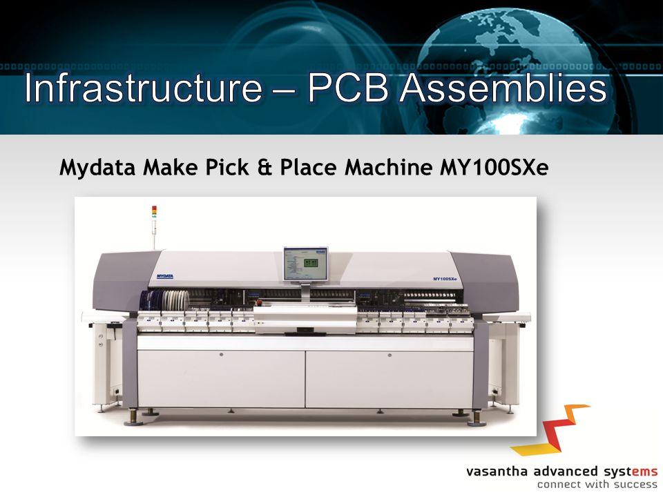 Mydata Make Pick & Place Machine MY100SXe