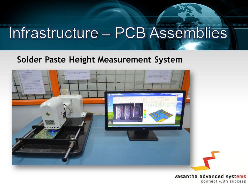 Solder Paste Height Measurement System