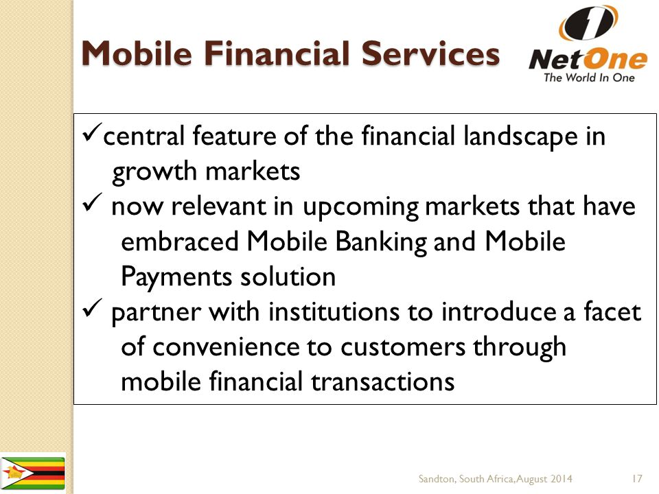 Mobile Financial Services