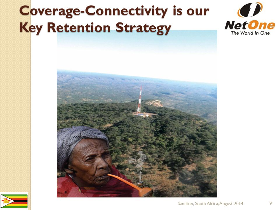Coverage-Connectivity is our Key Retention Strategy