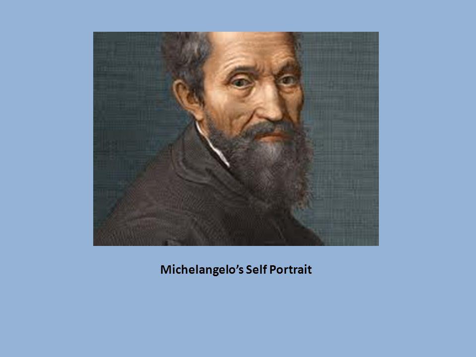 Michelangelo's Self Portrait