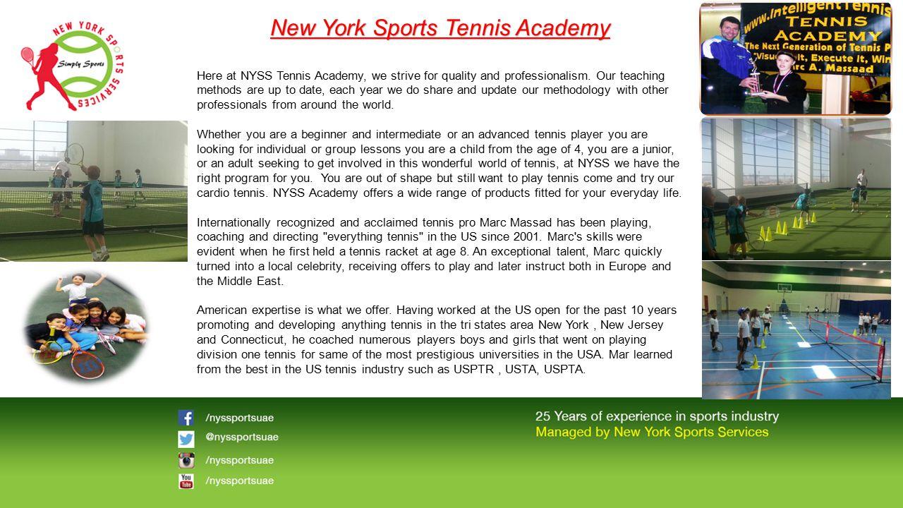 New York Sports Tennis Academy