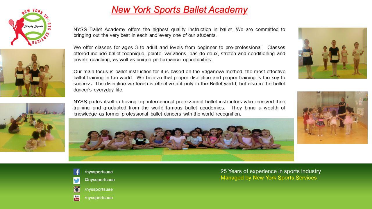 New York Sports Ballet Academy