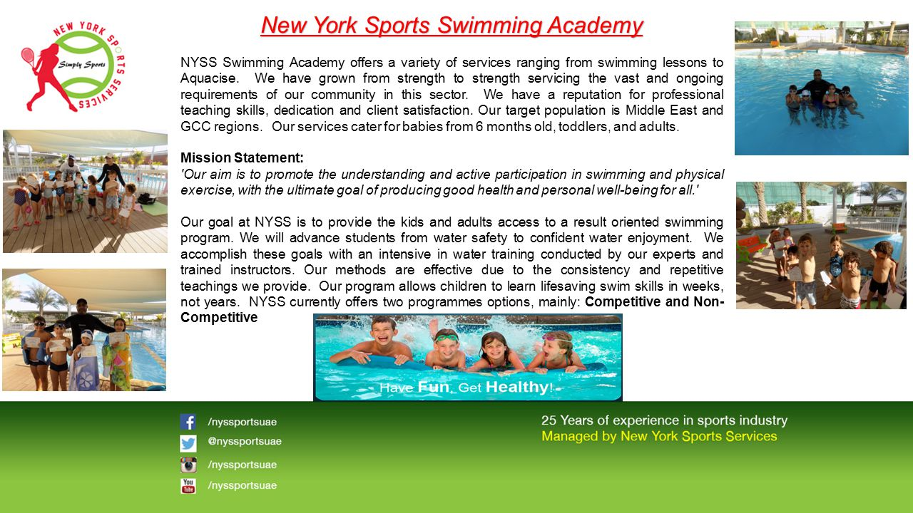 New York Sports Swimming Academy