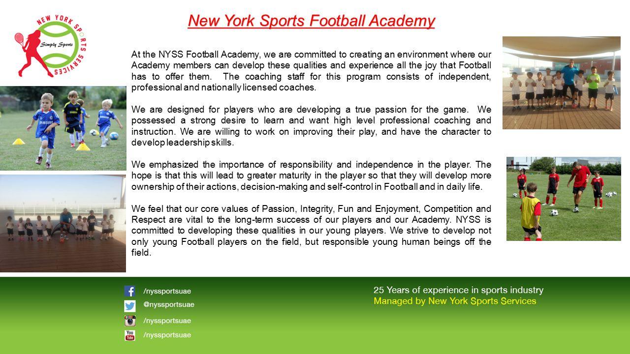 New York Sports Football Academy