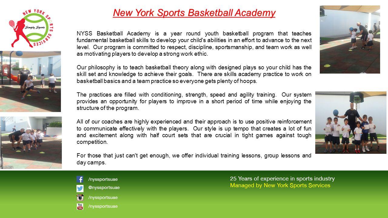New York Sports Basketball Academy