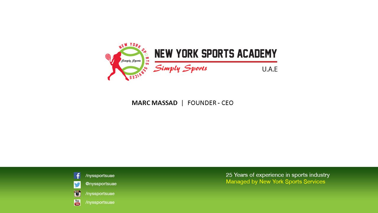 MARC MASSAD | FOUNDER - CEO