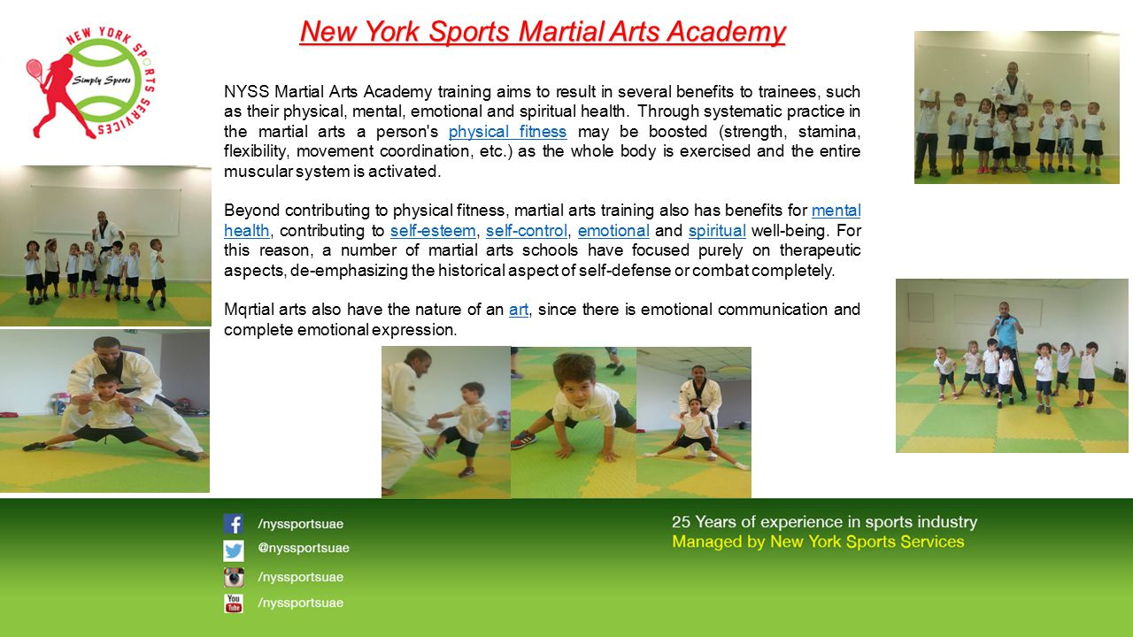 New York Sports Martial Arts Academy