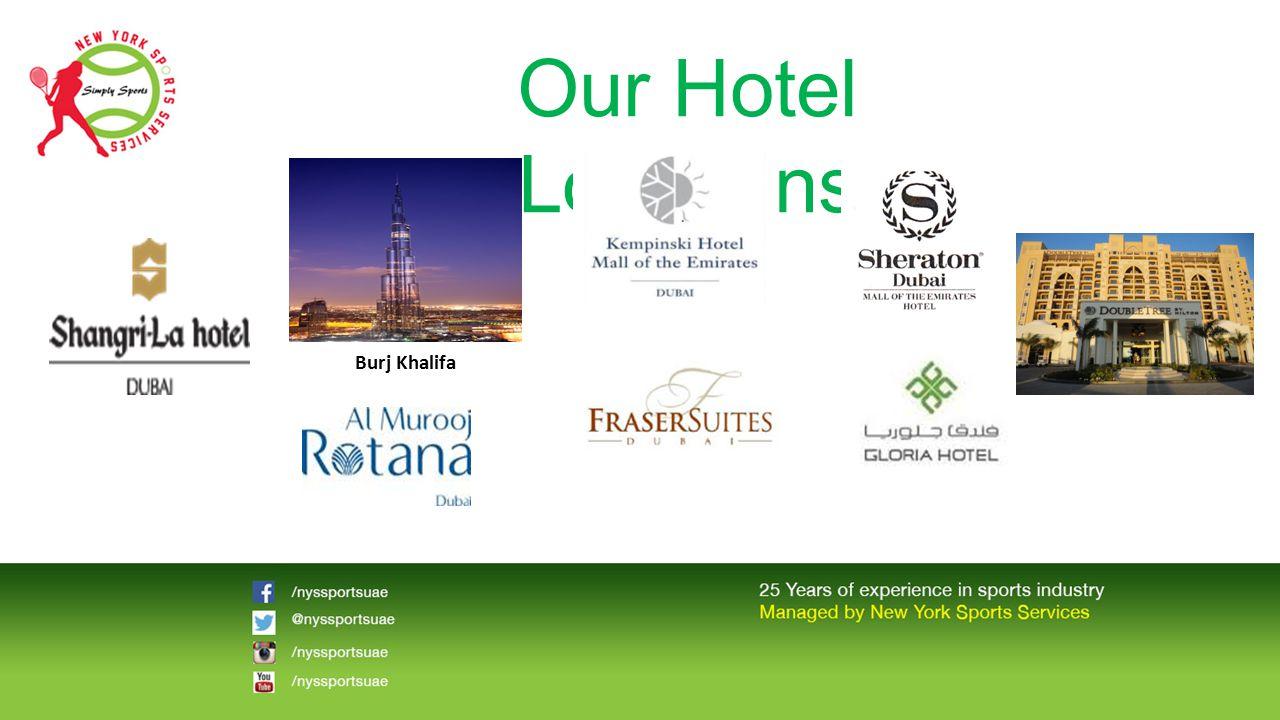 Our Hotel Locations Burj Khalifa