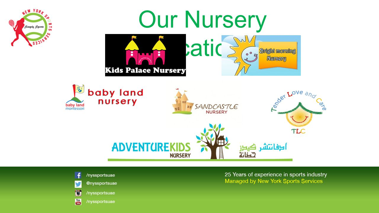 Our Nursery Locations