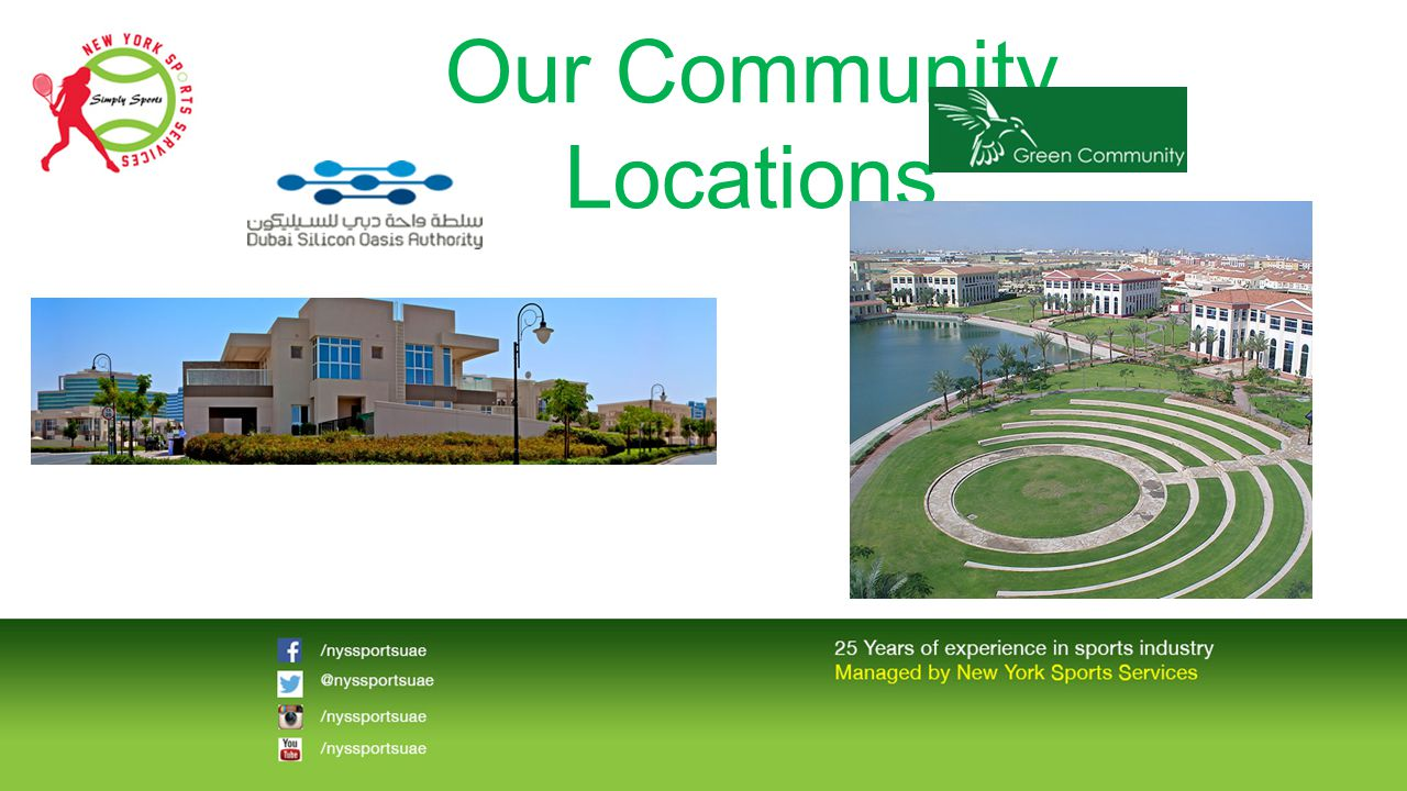 Our Community Locations
