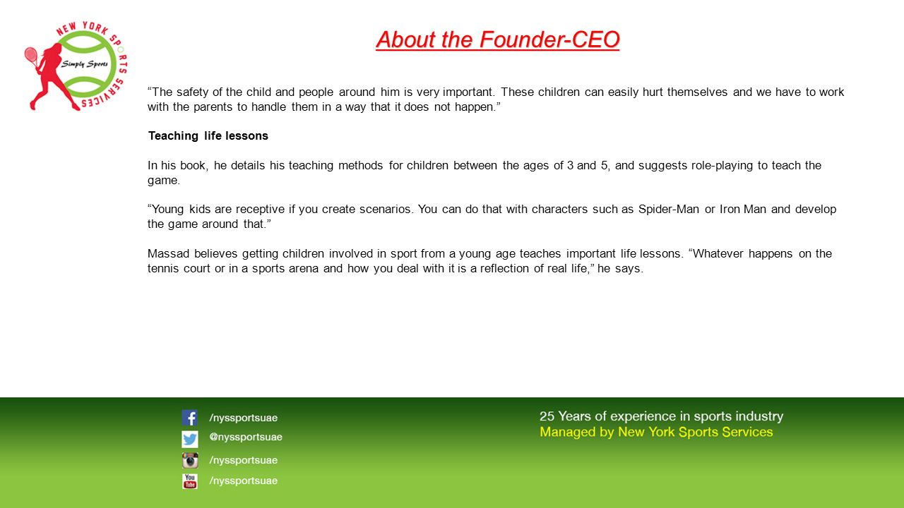 About the Founder-CEO
