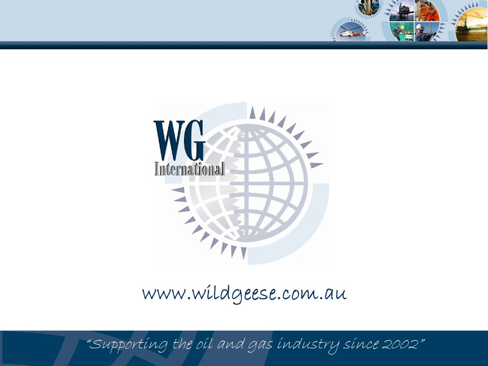 Supporting the oil and gas industry since 2002
