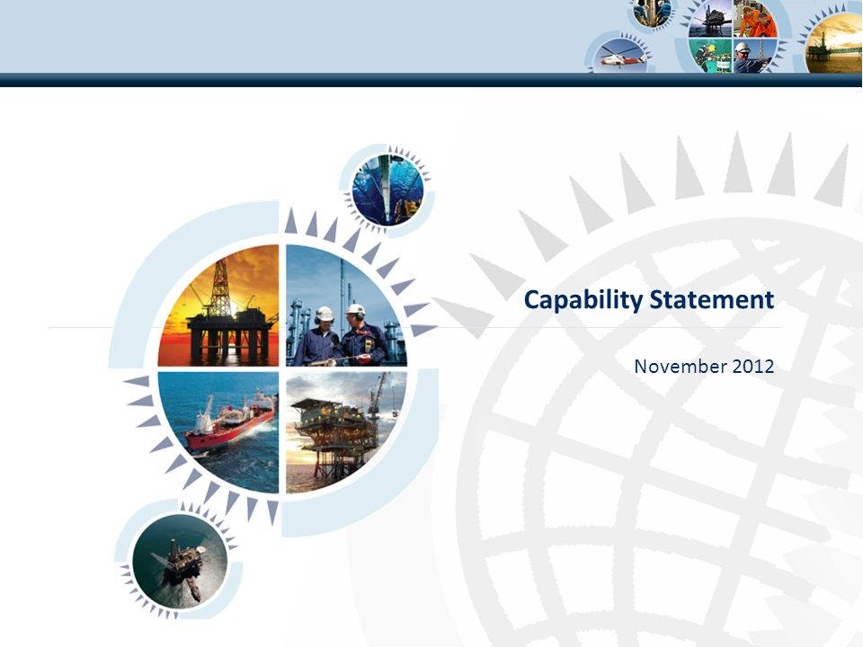 Capability Statement November 2012