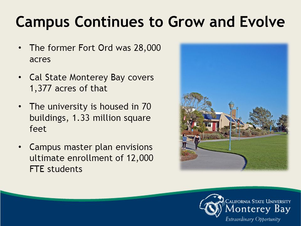 Campus Continues to Grow and Evolve