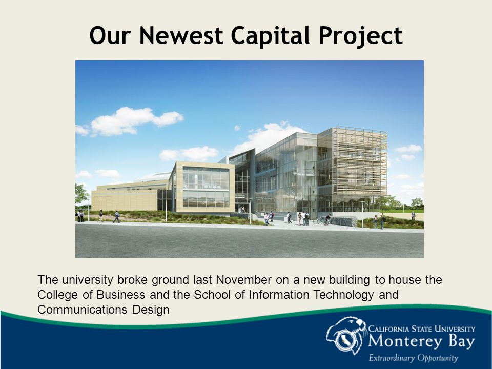 Our Newest Capital Project