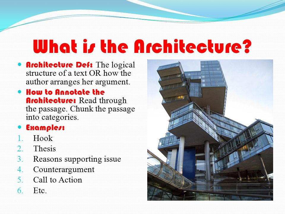 What is the Architecture