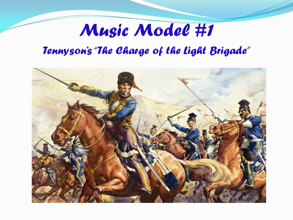 Tennyson's The Charge of the Light Brigade