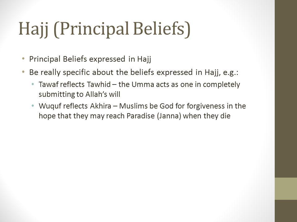 Hajj (Principal Beliefs)