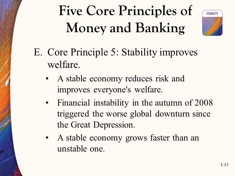Five Core Principles of Money and Banking