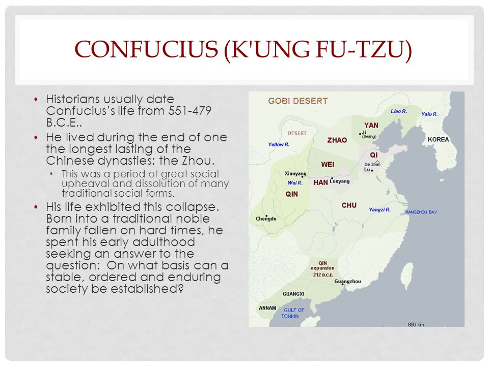 Confucius (K ung Fu-tzu)