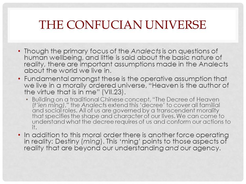 The Confucian Universe