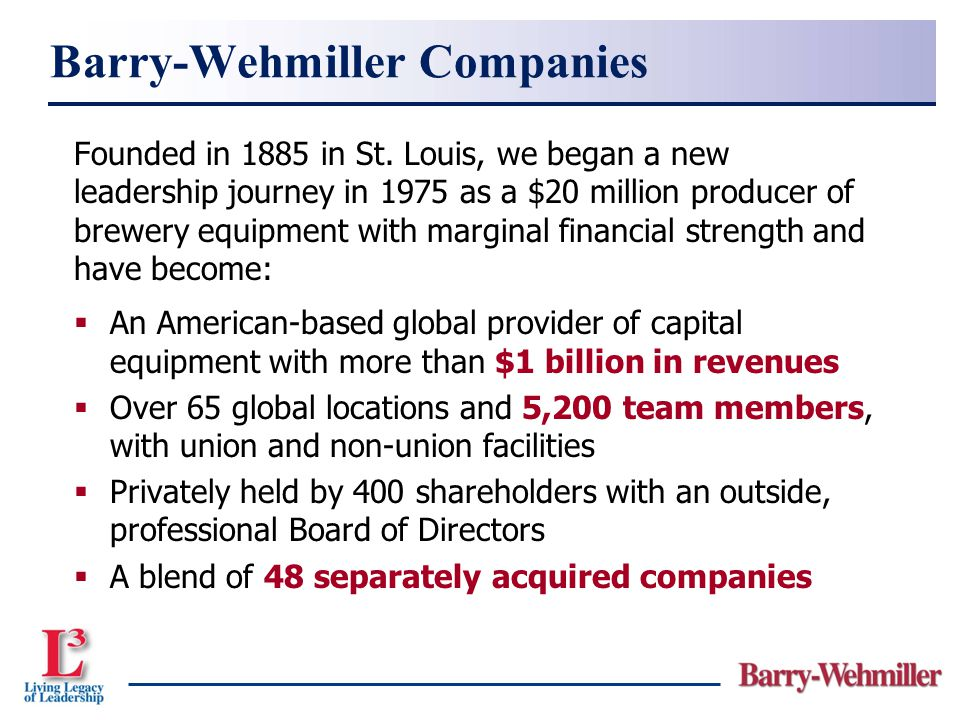 Barry-Wehmiller Companies
